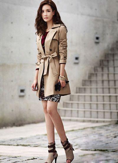 korean female fashion style | Women fashion, ladies fashion: Korean Style Clothes On Top-dresses