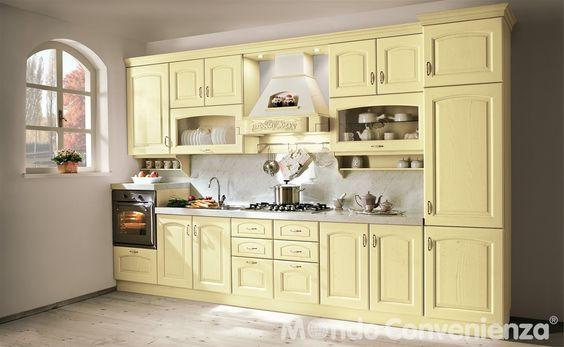 Cucina Berta - Cucina composizione tipo - Classico - Mondo ...