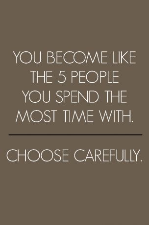 Choose carefully.