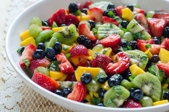 Fruit Salad with Sweet Lime Dressing - Google 검색