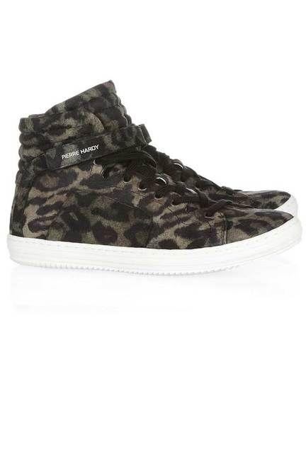 #PierreHardy #leopard sneakers