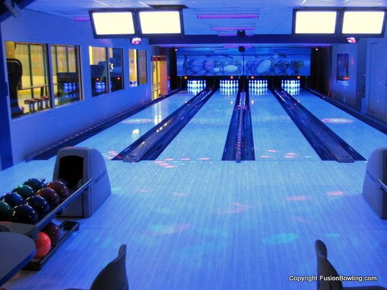 Bowling Alleys From Fusion Bowling 6 Luxatic Home Bowling Alley Bowling Alley Bowling