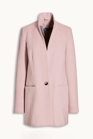 Buy Pale Pink Short Coat from the Next UK online shop | WANT