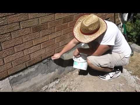 Concrete Foundation Repair Parging Diy Foundation Repair Diy Home Repair Home Repairs