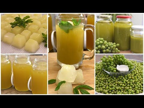 جربتوا هذا الكنز بديل الليمون حامض ومنعش طبيعي بعدة طرق للحفظ بالثلاجة وخارجها الحصرم Youtube Home Cooking Cooking Spices