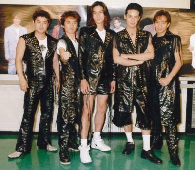 TOKIO若い頃の5人衣装がハードな壁紙
