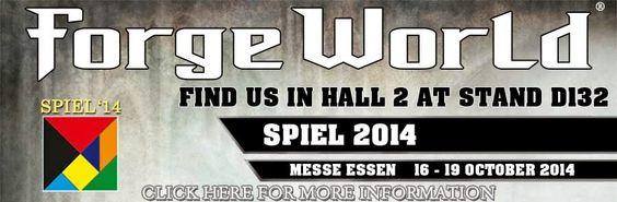 El Descanso del Escriba: Forge World en el Spiel 2014 de Essen