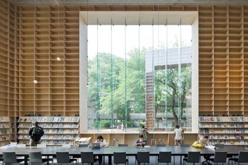 remash:    Musashino Art UniversityLibrary | interior ~ sou fujimoto
