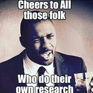 Do your own research
