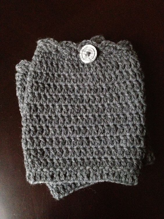 Scalloped Edge Boot Cuffs | My Personal Therapy (Etsy) | Pinterest ...