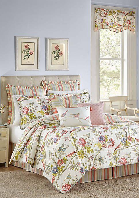 Waverly Charleston Chirp Comforter Set In 2020 Comforter Sets Queen Comforter Sets Comforters