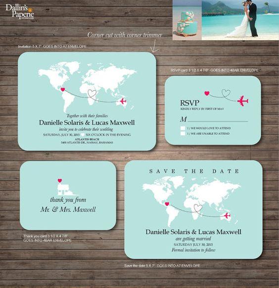 Wedding Maps Turquoise And Wedding On Pinterest