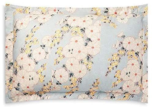 floral king pillow sham