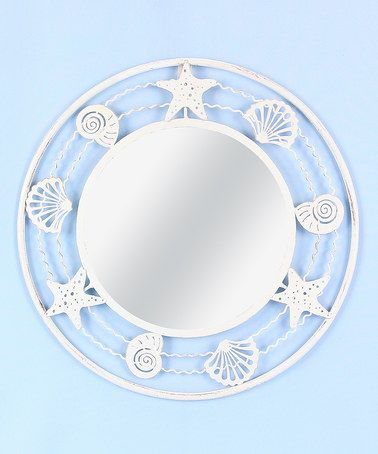 Look what I found on #zulily! Metal Nautical Framed Mirror #zulilyfinds