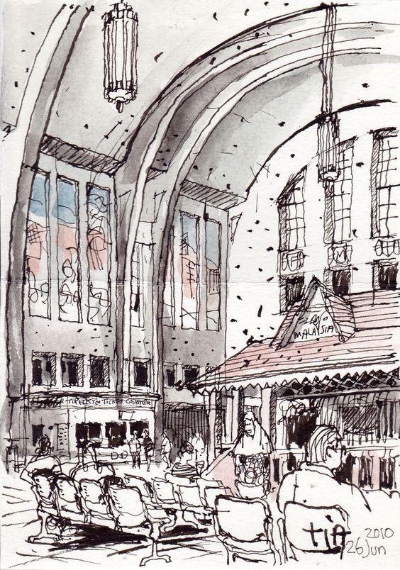 100626_Railway Station Interior