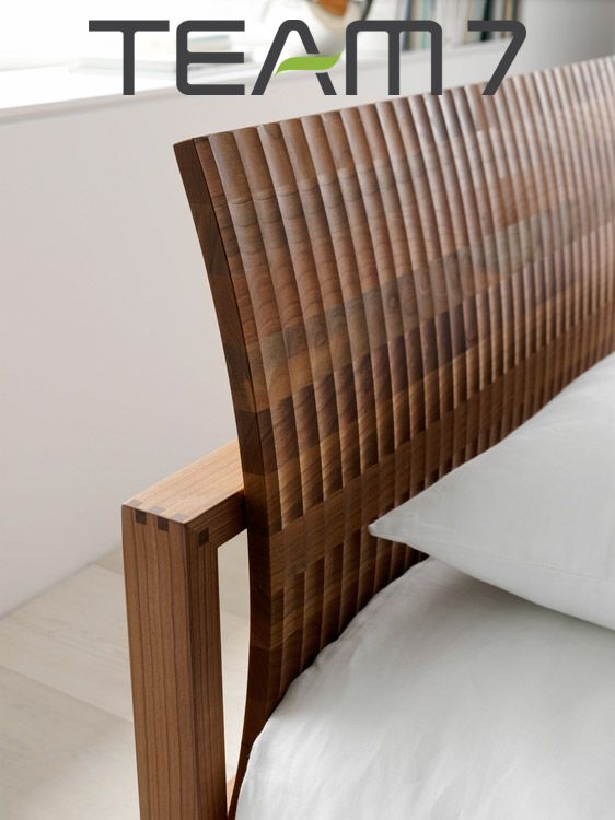 TEAM7 brings natural wood and excellent design into your life / #solid #wood #eco #design #organic #natural #TEAM7