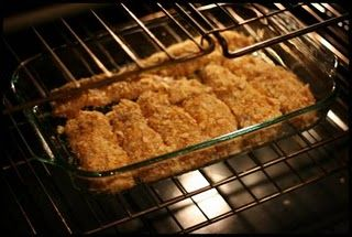 Ritz Cracker Chicken - I made this last night and it was AWESOME! It even surprised my skeptical husband  : - )