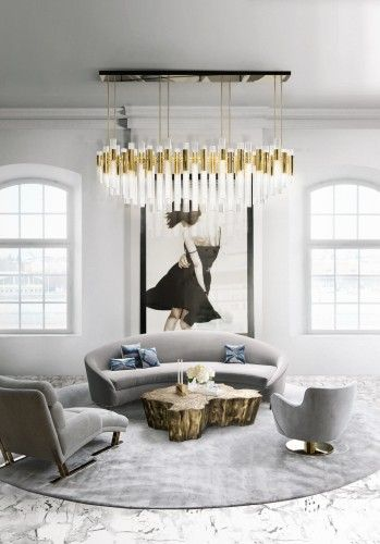 Waterfall Chandelier #inspirations #designinspiration #moderninteriordesign decorate, interior design, luxury design . See more inspirations at www.luxxu.net