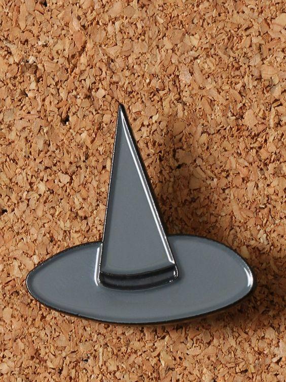 Witch Hat Enamel Pin - Gypsy Warrior