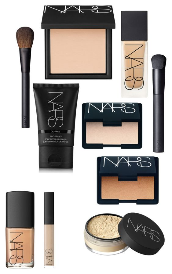 """Nars foundation products"" by hollyburton12 ❤ liked on Polyvore featuring beauty and NARS Cosmetics"