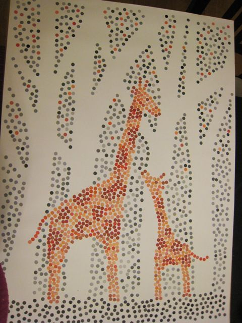 DIY: Paint-chip art, Paint chips and a hole punch