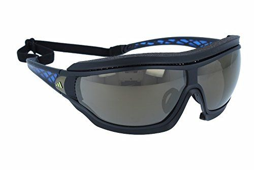 quemado como eso Estándar  adidas Tycane Pro Outdoor L Rectangular Sunglasses Black Matte Blue 82 mm *  To view further for this item,… | Rectangular sunglasses, Sports  sunglasses, Sunglasses