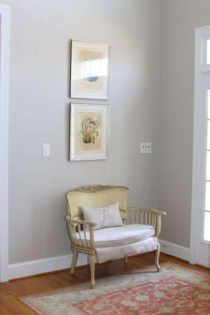 Behr wheat bread accent color in bedroom home for Accent colors for neutral rooms