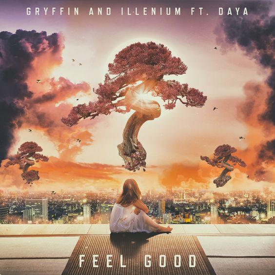 Gryffin & Illenium, Daya – Feel Good (single cover art)