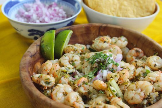 These camarones borrachos (drunken shrimp) are an easy shrimp recipe that comes together in less than an hour. Serve as meal for two or appetizer for four.