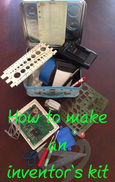 Frugal parenting: How to create an 'Inventor's Kit' for your child