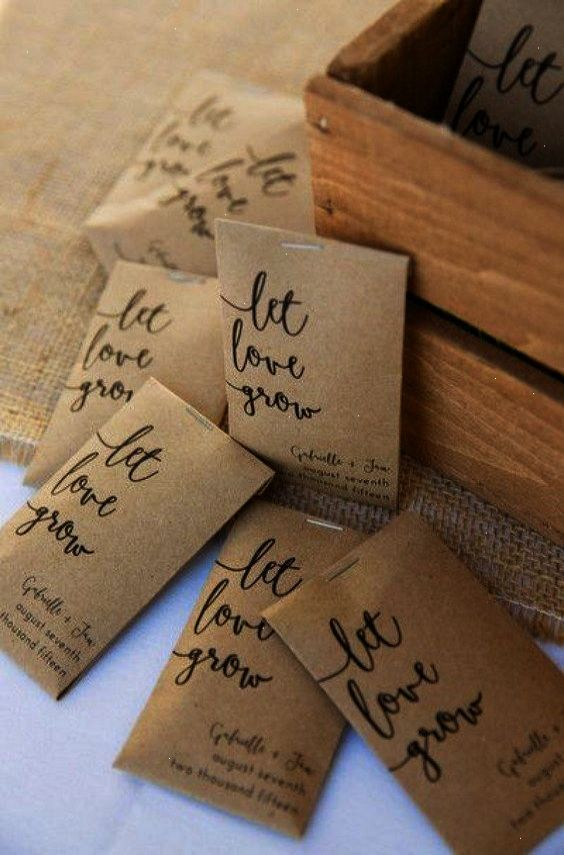 Ahhh Wedding Favors Unlimited Coupon 2018 Seed Wedding Favors Rustic Wedding Favors Wedding Gift Favors