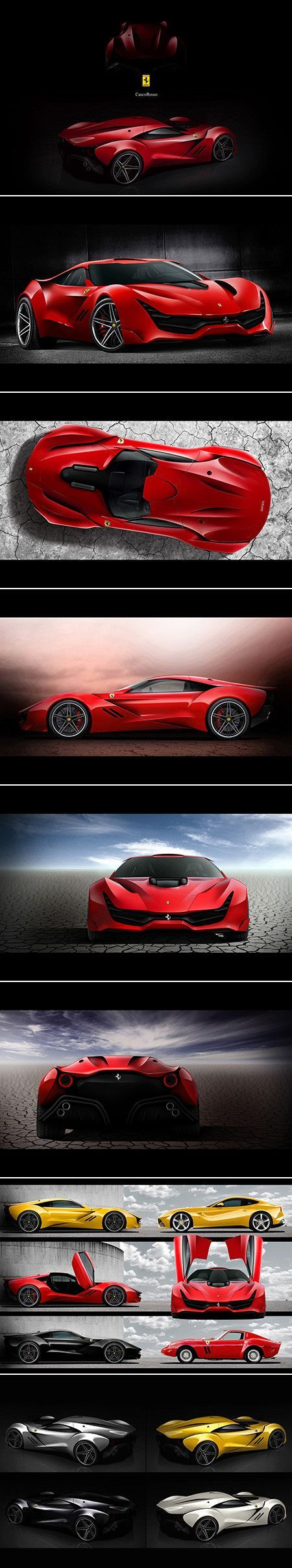 8 Amazing Pictures of the Sleek Ferrari CascoRosso - TechEBlog: