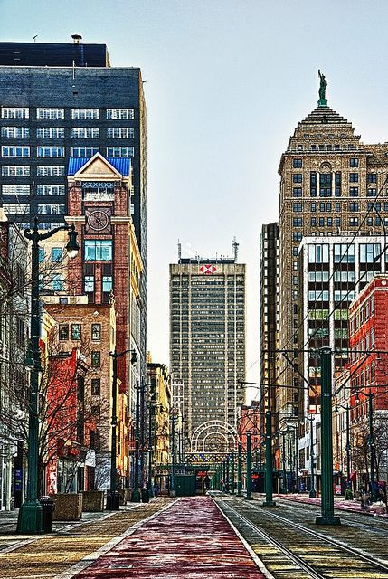 Buffalo New York Main Street Dsh 0537 38 By Masinka