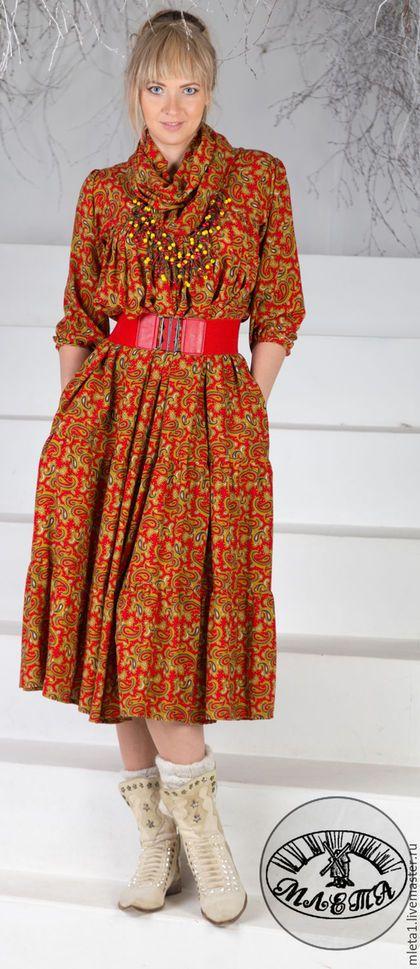 Женские платья ручной работы