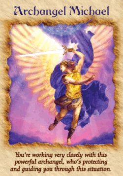 ∆ Archangel Michael...Protection, shielding & Guidance from Archangel Michael.