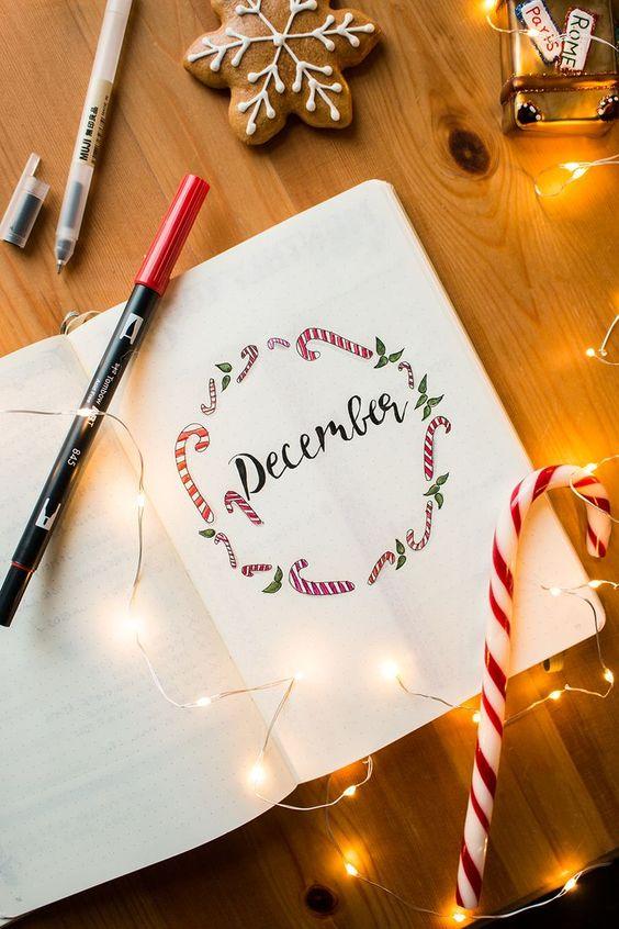 Bullet Journal Setup December - Planning vor Christmas 2017 - tea & twigs