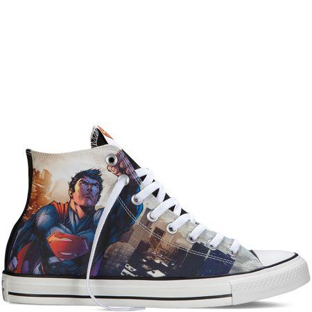 Chuck Taylor DC Comics Superman black