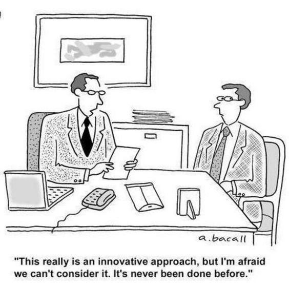 So scheitert Innovation ...