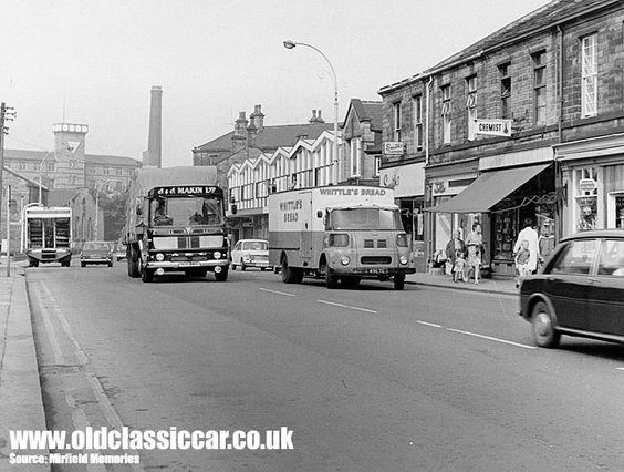 AEC & Leyland lorries