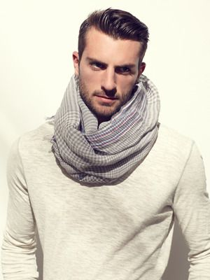 A scarf for those cool spring nights