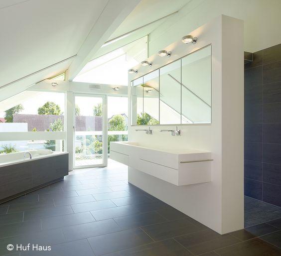 ©Huf Haus | Waschtisch aus Mineralwerkstoff Corian