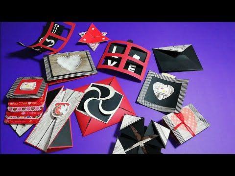 يلا الحقي اعملي هدية الفلانتين بوكس الصور Valentine S Day Explosion Box Part 2 Youtube