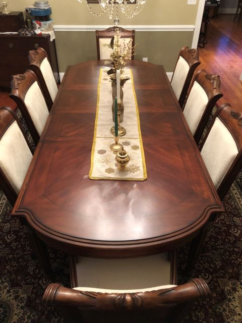 Broyhill Corbella Dining Room Table With 8 Chairs Dining Room Table Dining Table