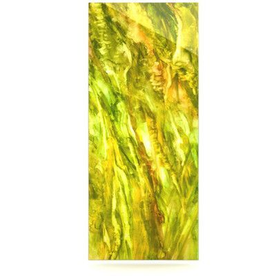 KESS InHouse Tropical Delight by Rosie Brown Painting Print Plaque Size: