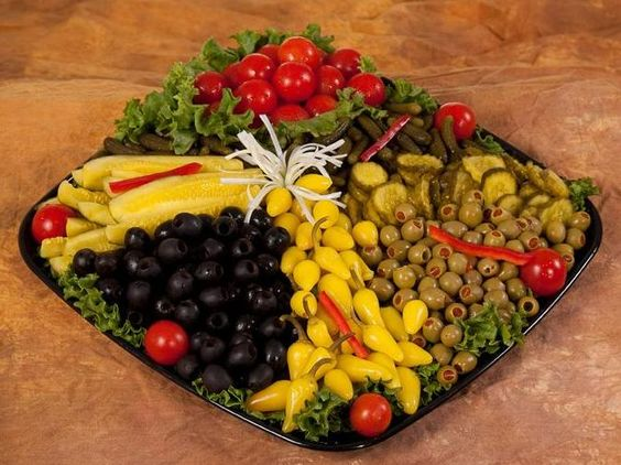 Pickle and Olive tray