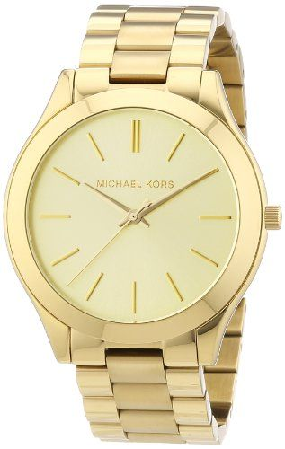 Michael Kors Slim Runway MK3179 - Reloj analógico de cuarzo para mujer Precio: 132€