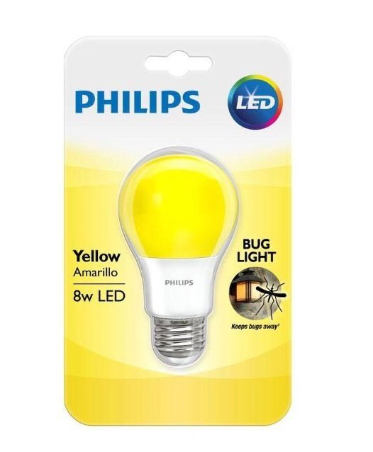 Philips Yellow Bug Light Bulb Led 8 W Porch Party 60 Watt Equivalent Home Garden Lamps Lighting Ceiling Fans Light Bulbs Light Bulb Bulb Porch Parties