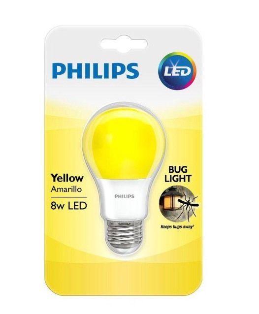 Philips Yellow Bug Light Bulb Led 8 W Porch Party 60 Watt