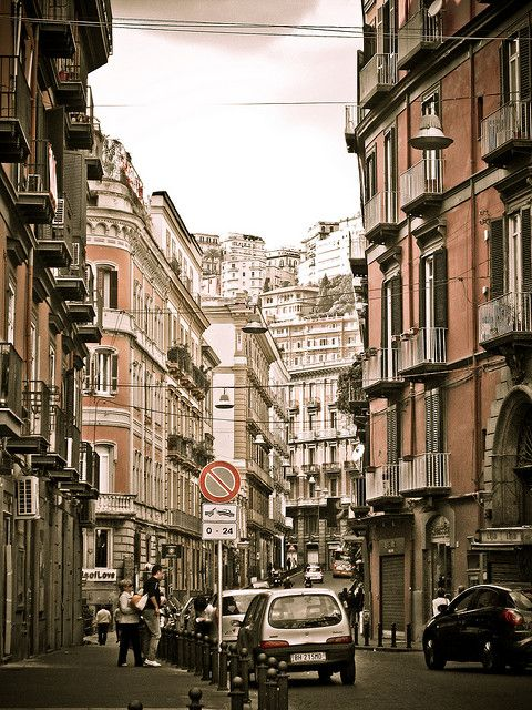 Naples, Italy 2011. Crazy, full on, busy, lively and great day trips near by. One of the best backpackers we stayed at. Food amazing!