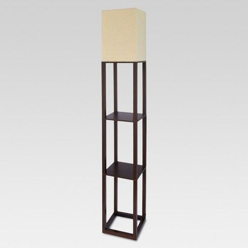 Shelf Floor Lamp Threshold Floor Lamp With Shelves Lamp Shelf Lamp